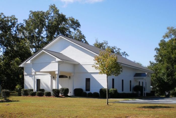Where the Gray church of Christ meets for worship